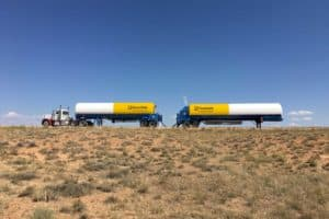 Rawhide LNG Tankers on a Virtual Pipeline